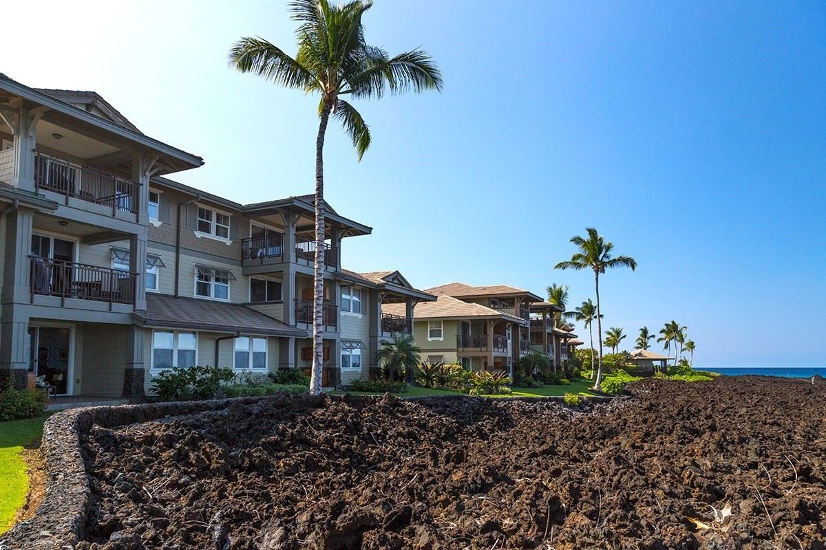 Mansions in Halii Kai ground floor oceanfront condo