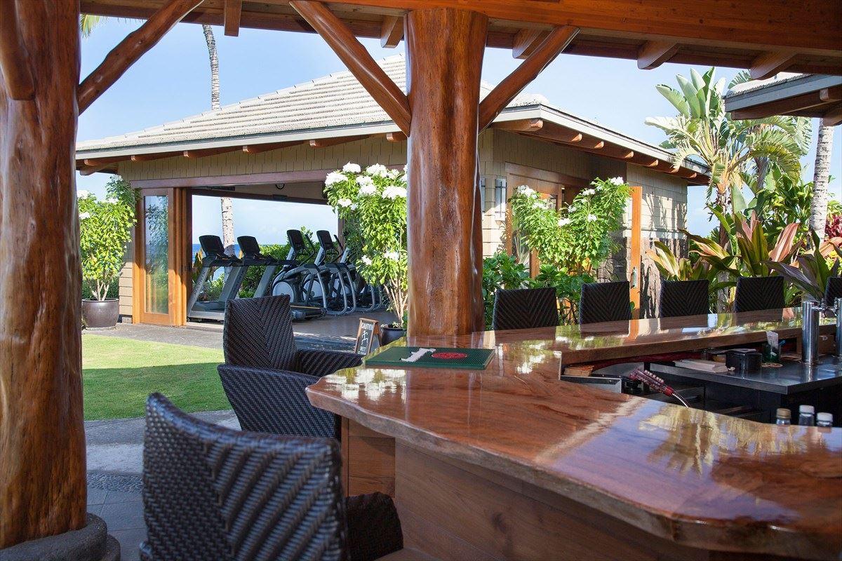 Luxury homes Halii Kai ground floor oceanfront condo
