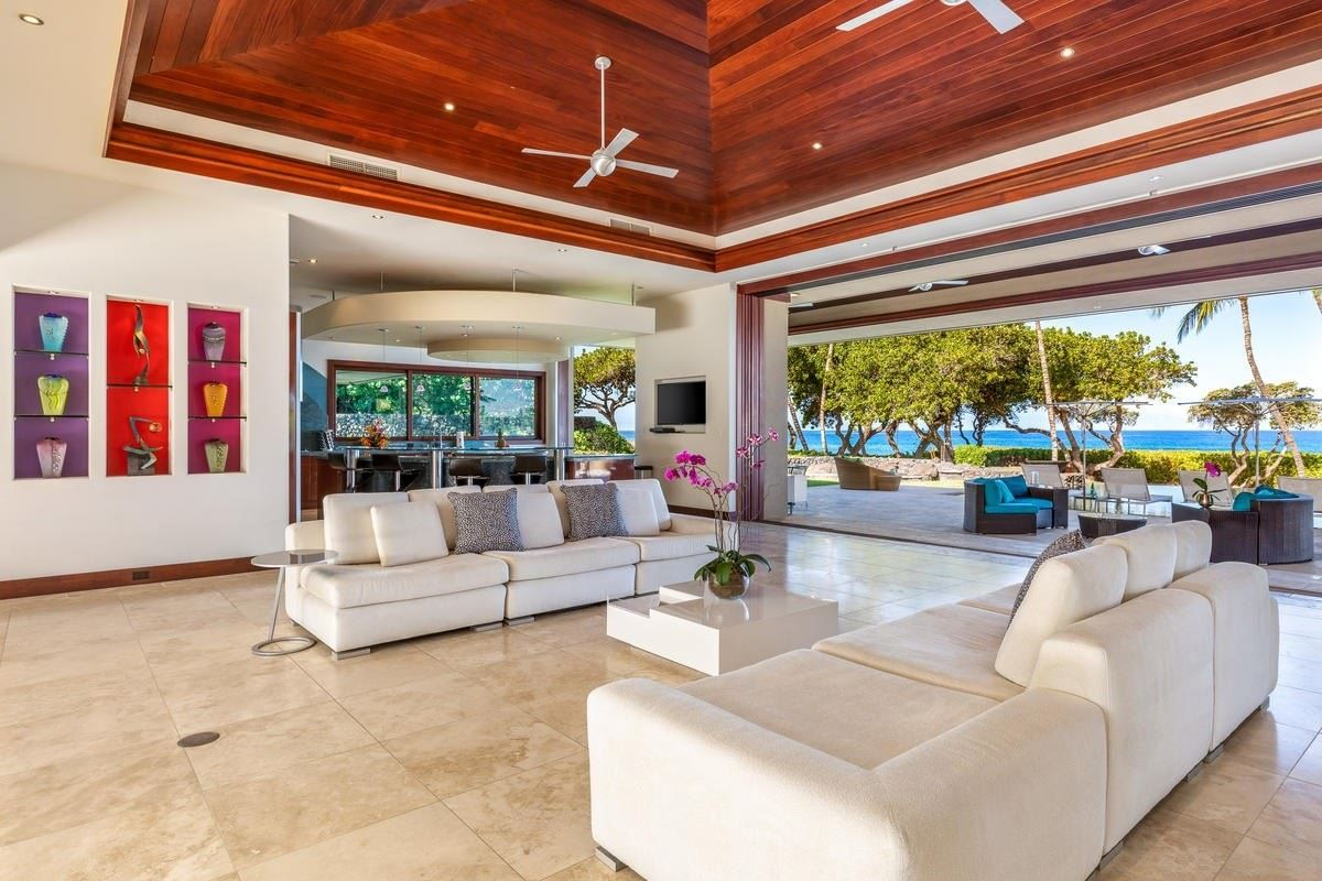 Luxury real estate contemporary beachfront living with a casually elegant vibe