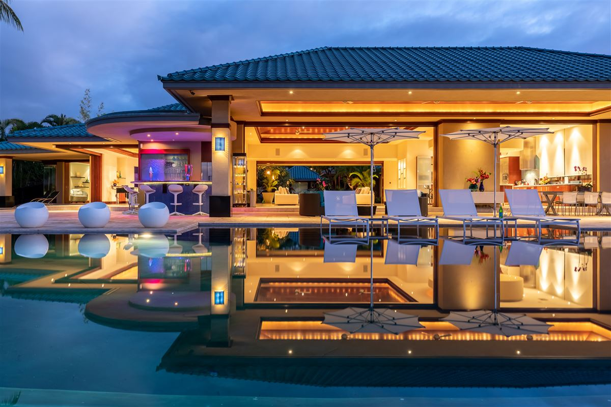 Luxury homes in contemporary beachfront living with a casually elegant vibe