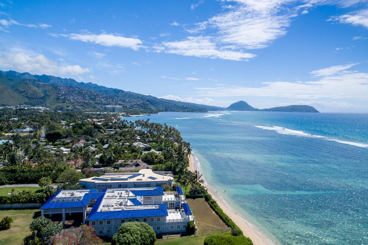 Luxury properties Prestigious Beachfront Estate