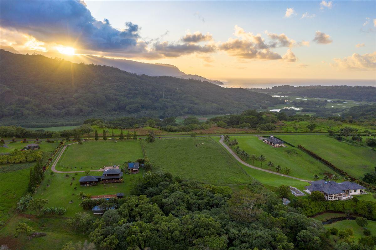 five Acres on Lush Island of Kauai luxury homes