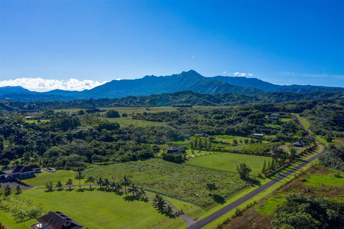 five Acres on Lush Island of Kauai luxury real estate