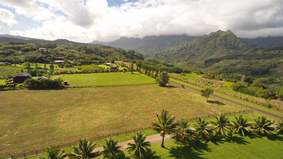 Mansions five Acres on Lush Island of Kauai