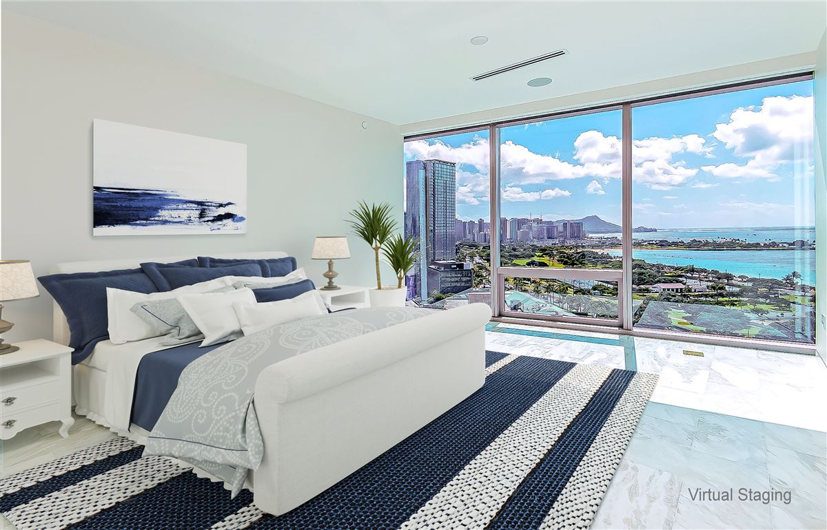 ocean view honolulu luxury condo - Waiea luxury real estate