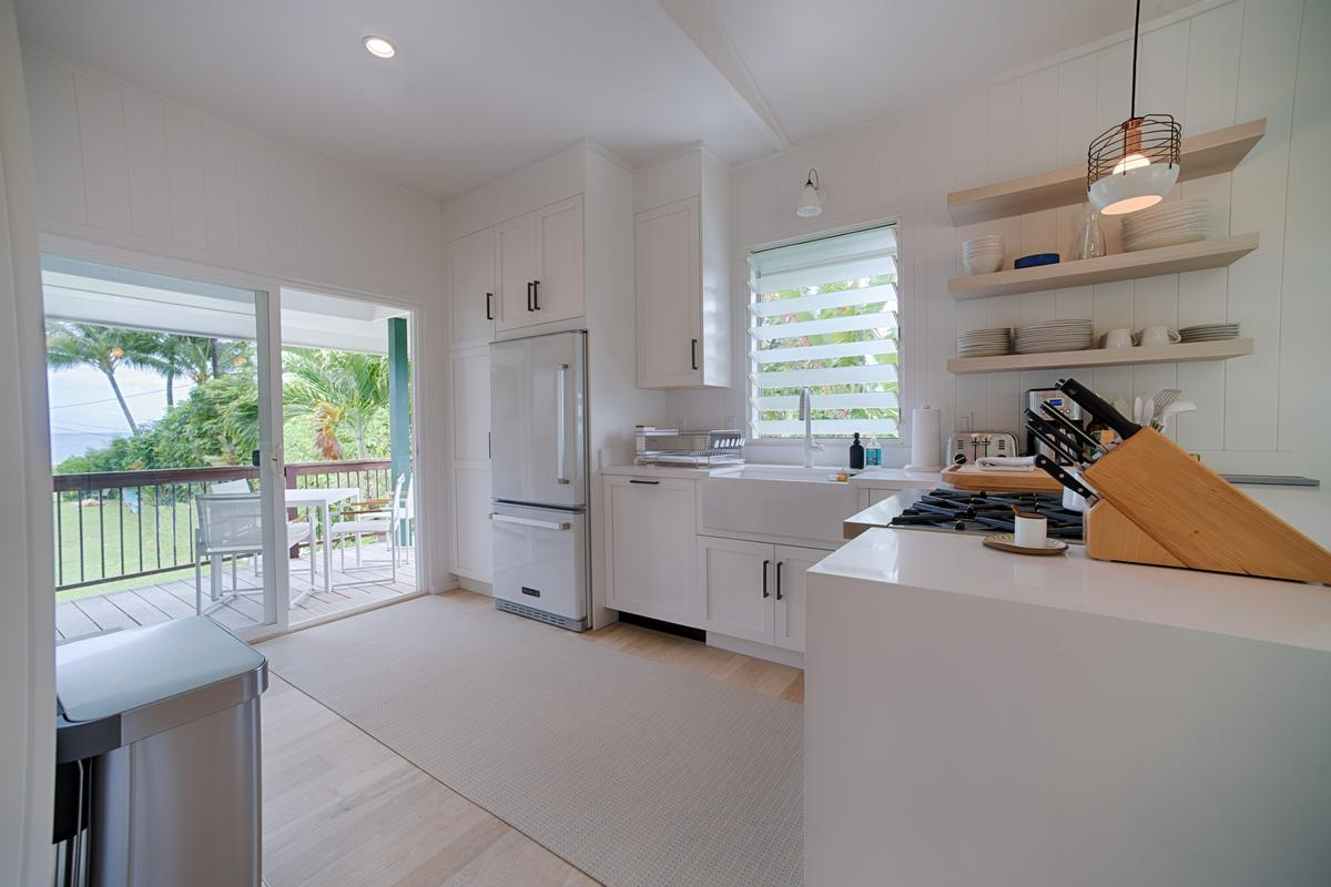 Luxury homes in Hanalei Bay View Cottage