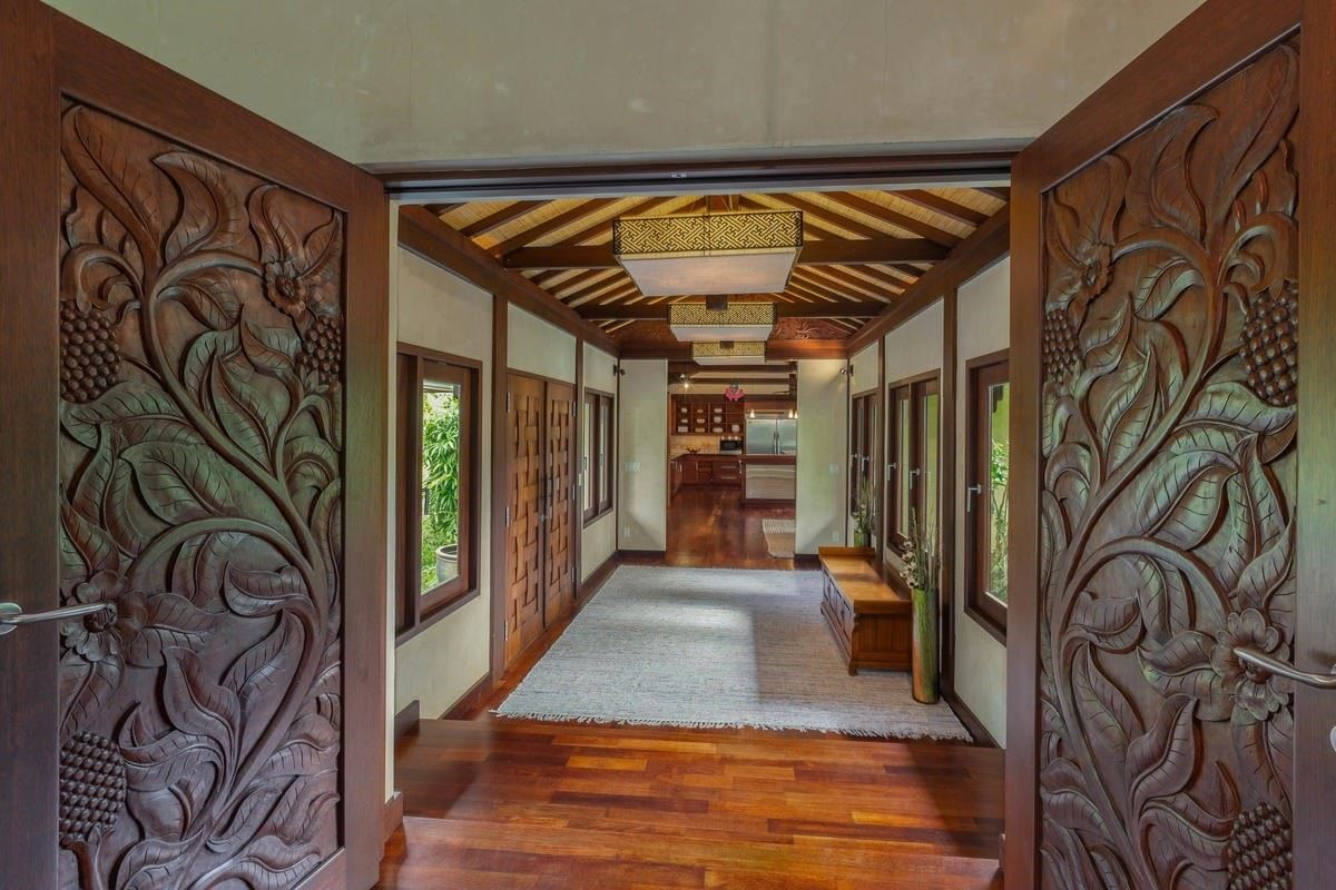 exquisite Bali style home on seven acres luxury real estate