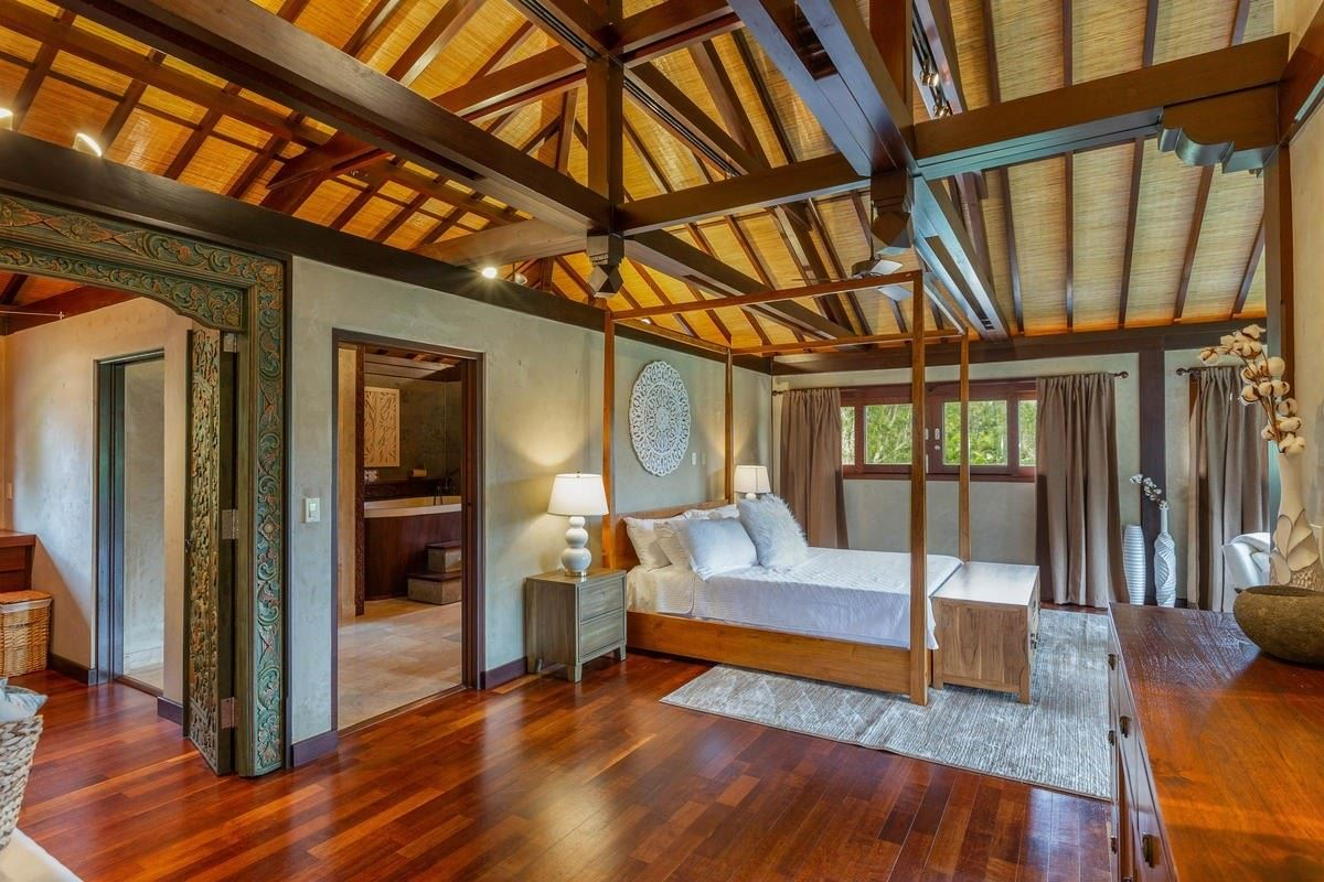Luxury homes in exquisite Bali style home on seven acres
