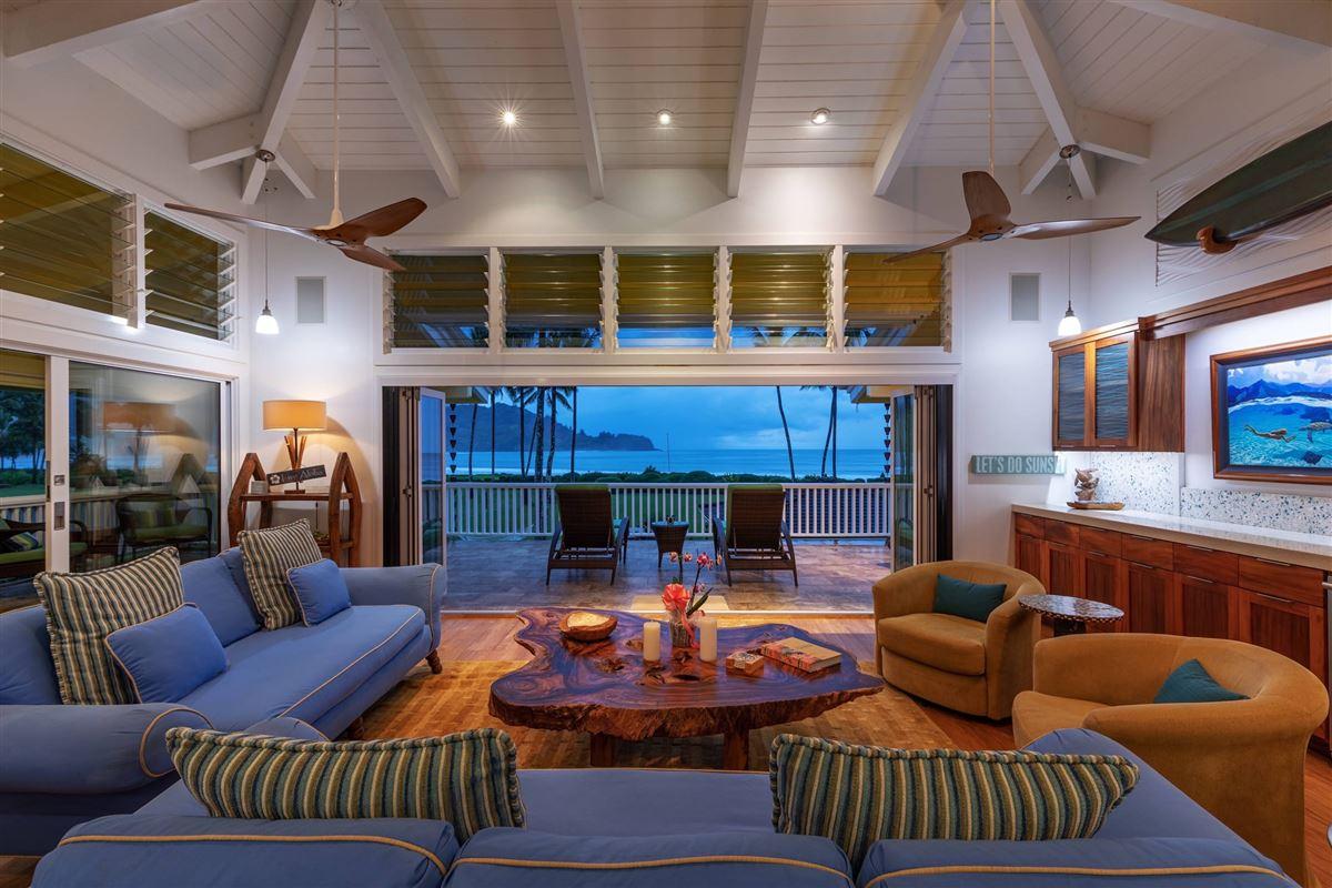 Hanalei Beachfront Estate luxury real estate