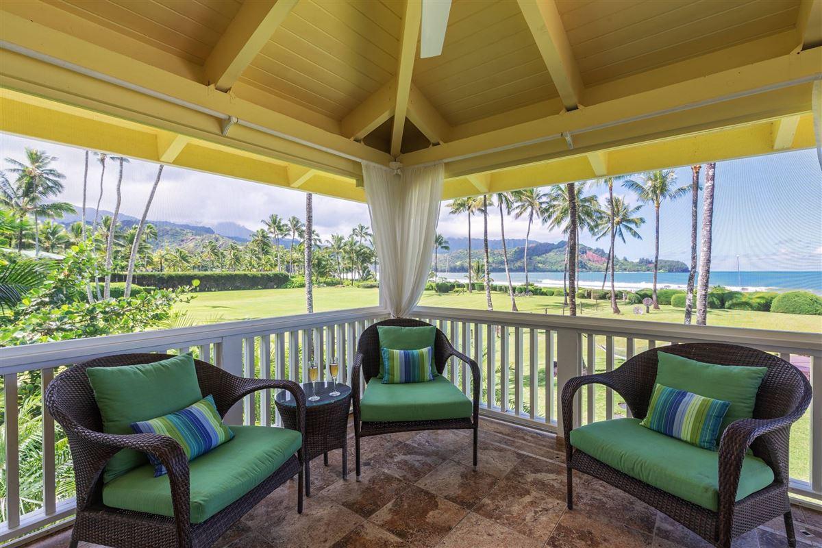 Hanalei Beachfront Estate luxury homes