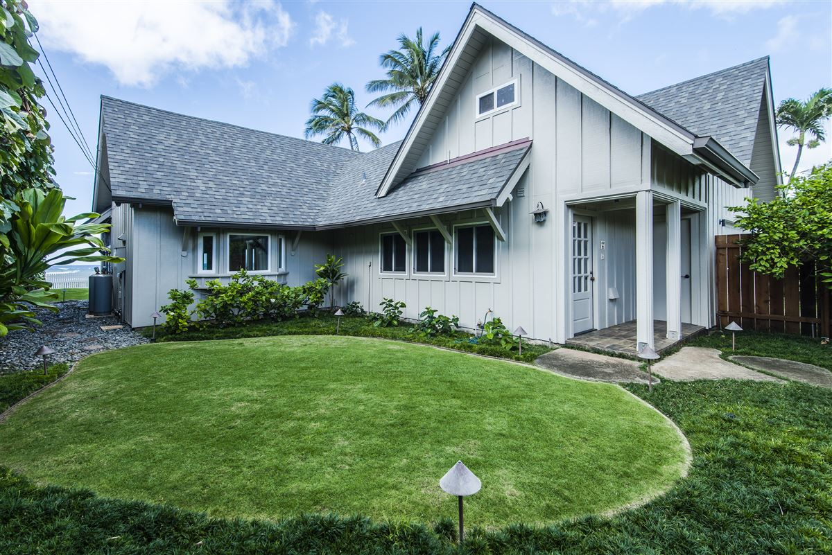 Move-in ready north shore beachfront home luxury real estate