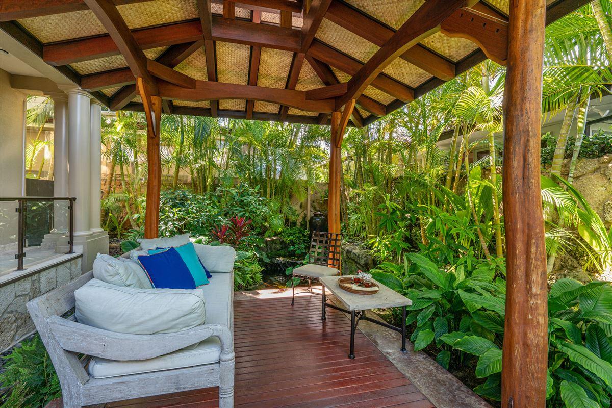 Luxury real estate ocean view kahala avenue home steps to beach and kahala resort