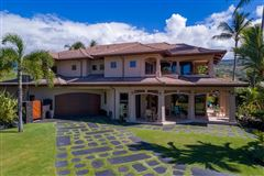 Mansions in expansive custom residence in Ke Alohi Kai