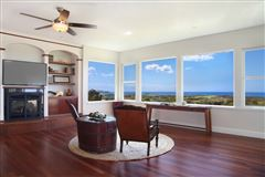 Mansions in beautiful estate property with gorgeous views