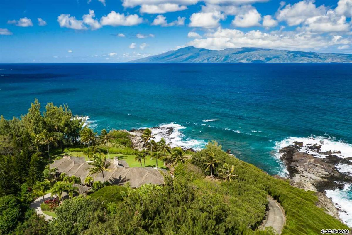 Luxury real estate secluded oceanfront property