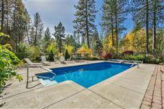 Little Spokane River frontage  luxury real estate