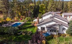 Little Spokane River frontage  mansions