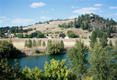 beautiful craftsman rancher on Spokane River luxury real estate