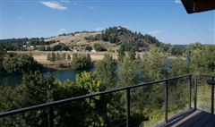 Luxury properties beautiful craftsman rancher on Spokane River