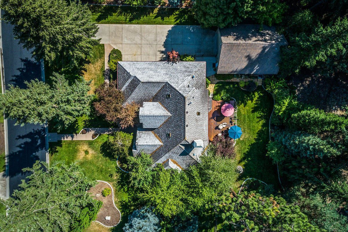 Mansions in exceptionally crafted two-story home