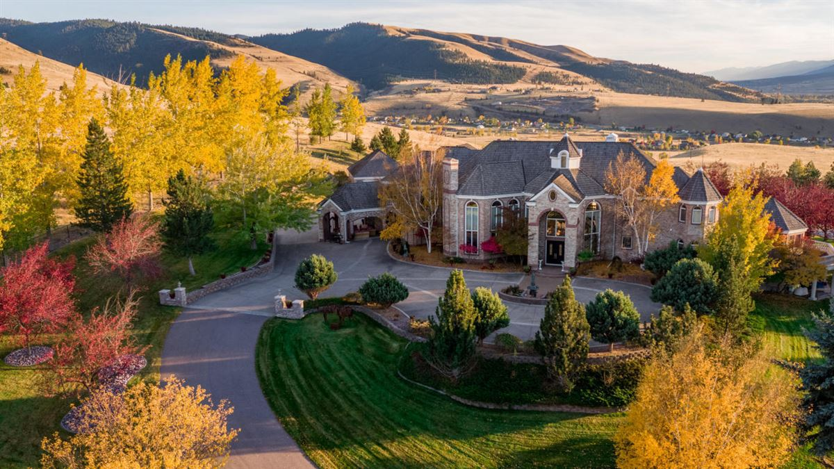 Beautiful Missoula Home Montana Luxury Homes Mansions For Sale
