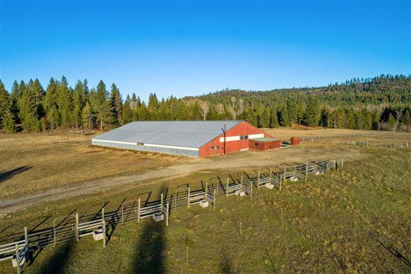 sprawling North IDAHO Equestrian Ranch mansions