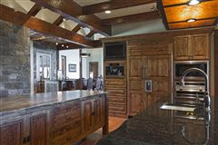 Mansions Amazing custom home on over 160 acres