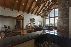 Mansions in Amazing custom home on over 160 acres