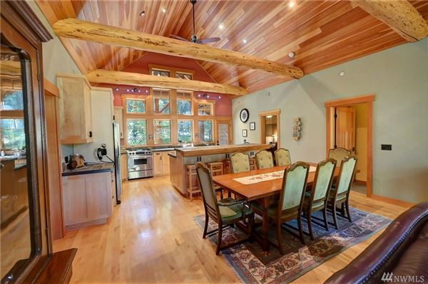 Custom artistic craftsman style home luxury real estate