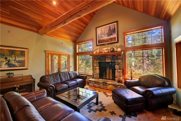 Mansions Custom artistic craftsman style home