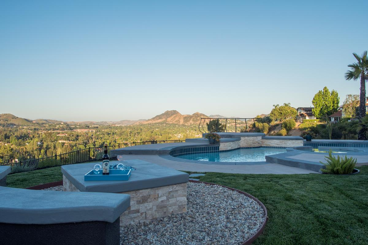 Spectacular Hilltop View Home California Luxury Homes