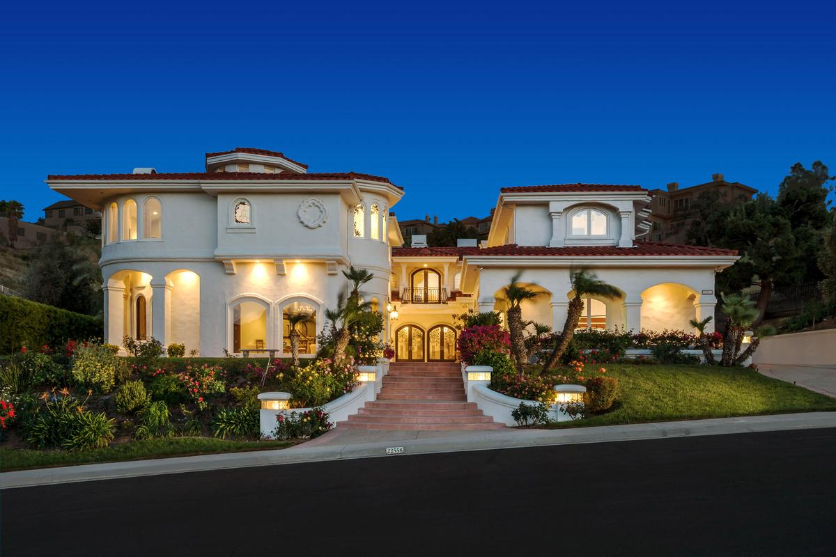 Luxury homes Custom mediterranean style estate