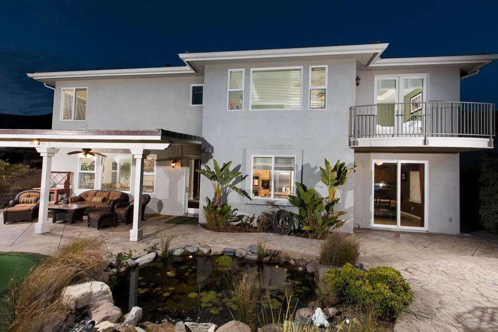 Porter Ranch View Home luxury homes