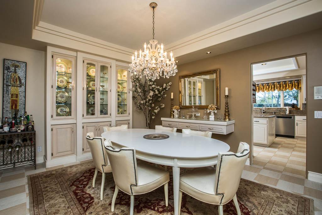 Luxury real estate Traditional Porter Ranch Home