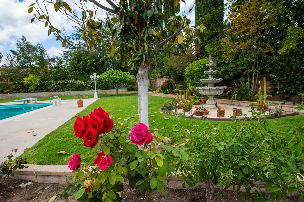 UNIQUE SINGLE STORY GRANADA HILLS POOL HOME  luxury real estate
