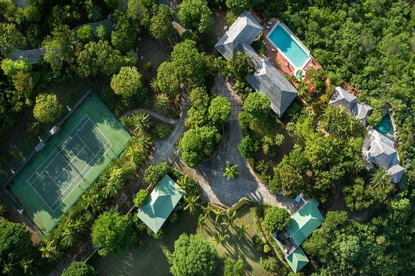Mansions unique Caribbean jewel