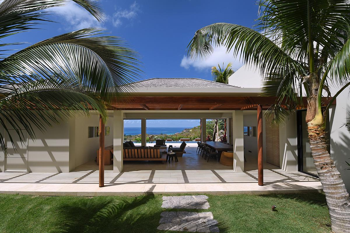 Luxury homes villa Artepea in Saint Barthelemy