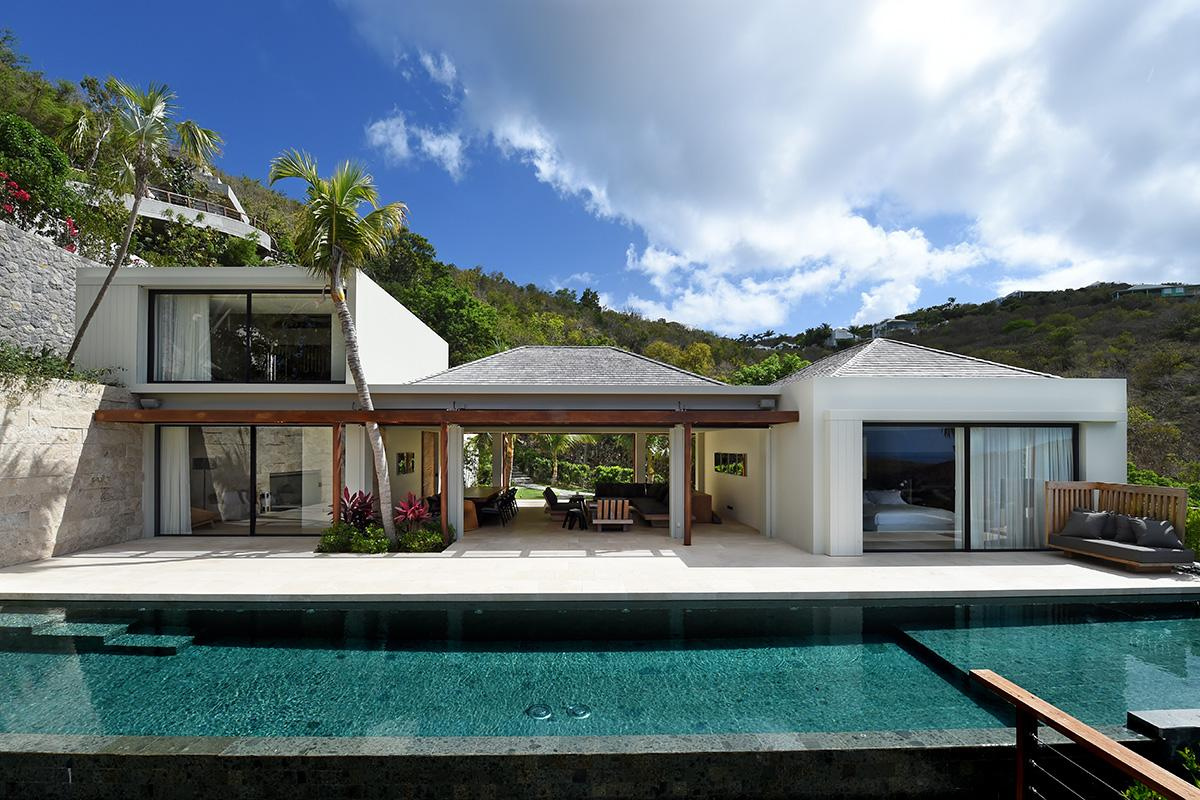 villa Artepea in Saint Barthelemy mansions