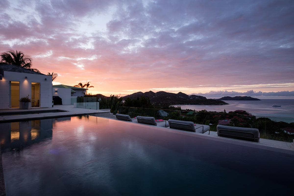 Luxury properties A breathtaking view in saint barthelemy
