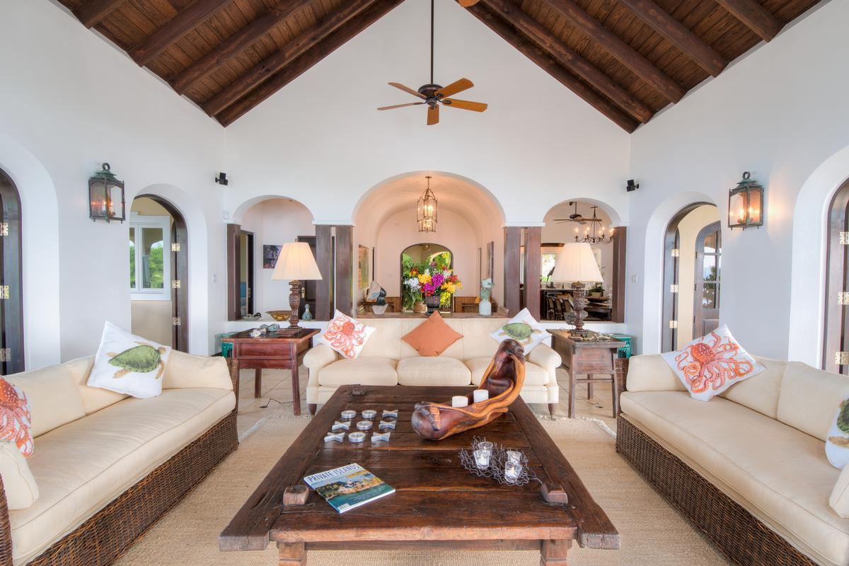 St Bernards Hill House in British Virgin Islands luxury real estate
