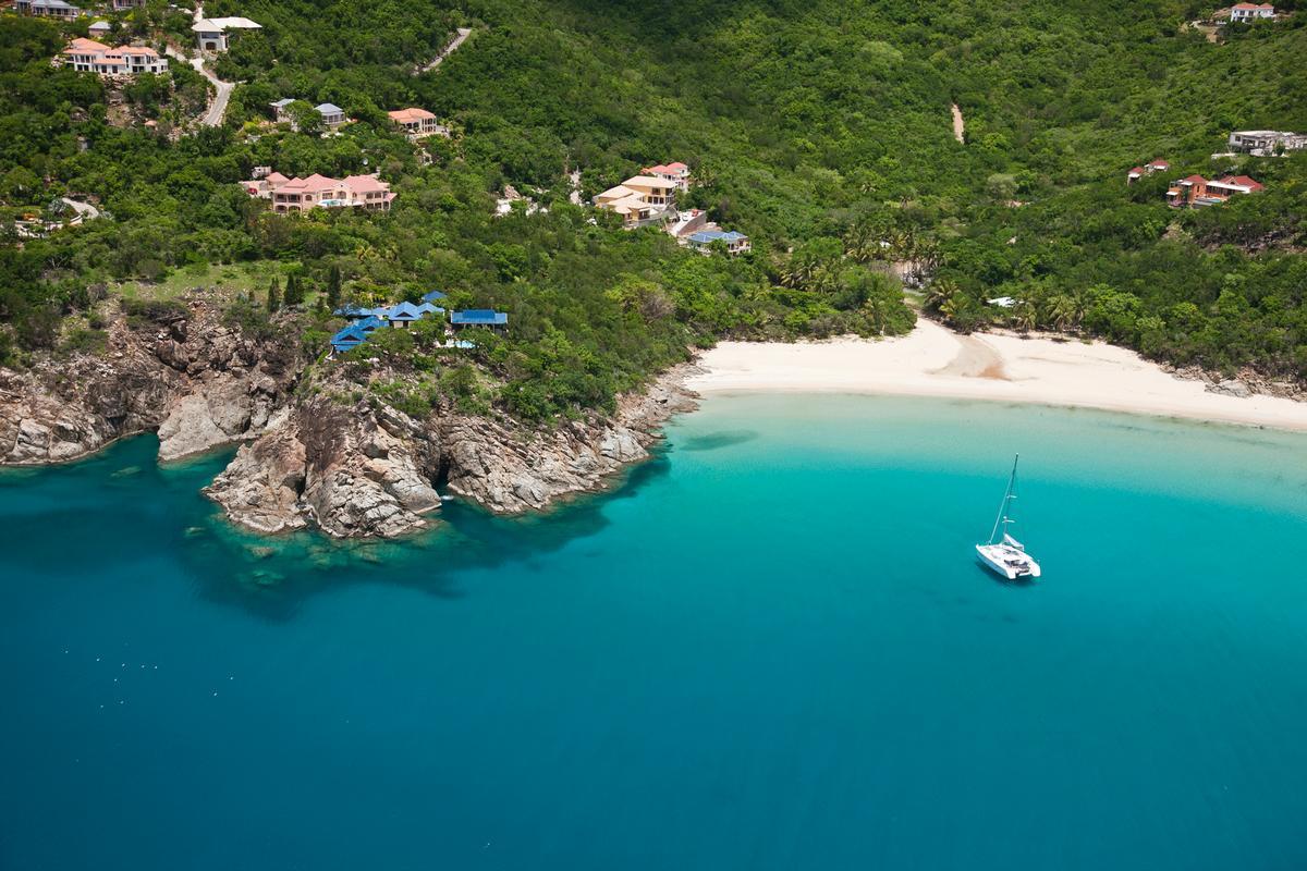 Luxury real estate Expansive custom villa in little bay