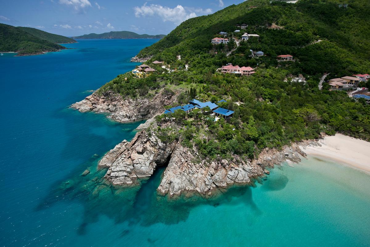 Expansive custom villa in little bay luxury real estate