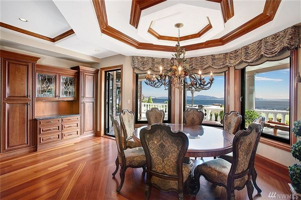 carefully built castle on the water luxury real estate