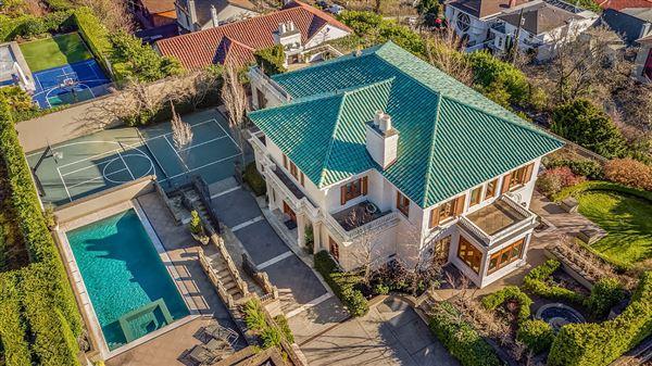 the landmark Gibbs House  mansions