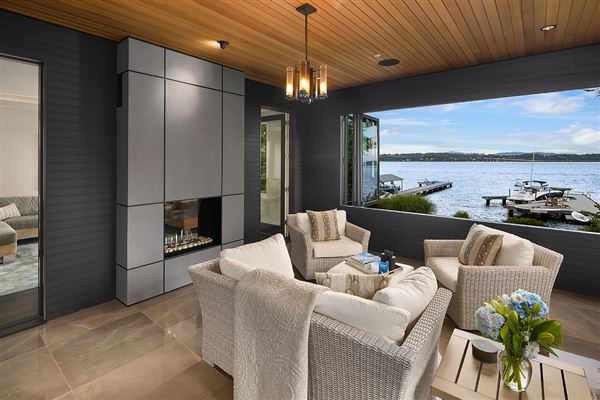 Meticulously constructed waterfront contemporary luxury properties