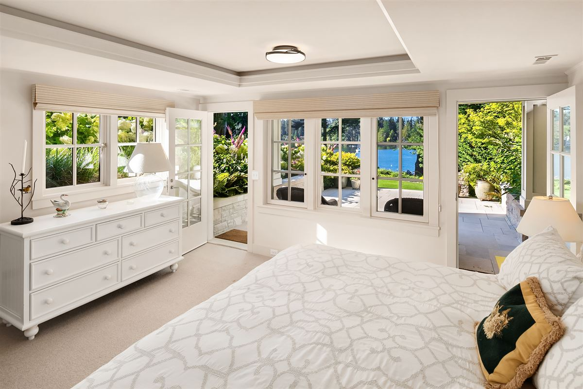 Luxury homes in magnificent custom home on Port Madison