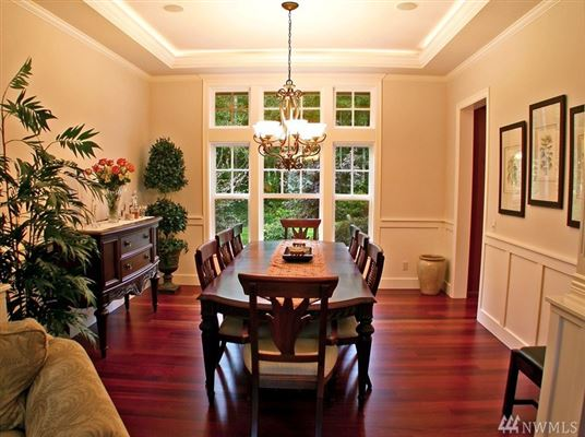 Luxury homes in Trombley Ridge Estates