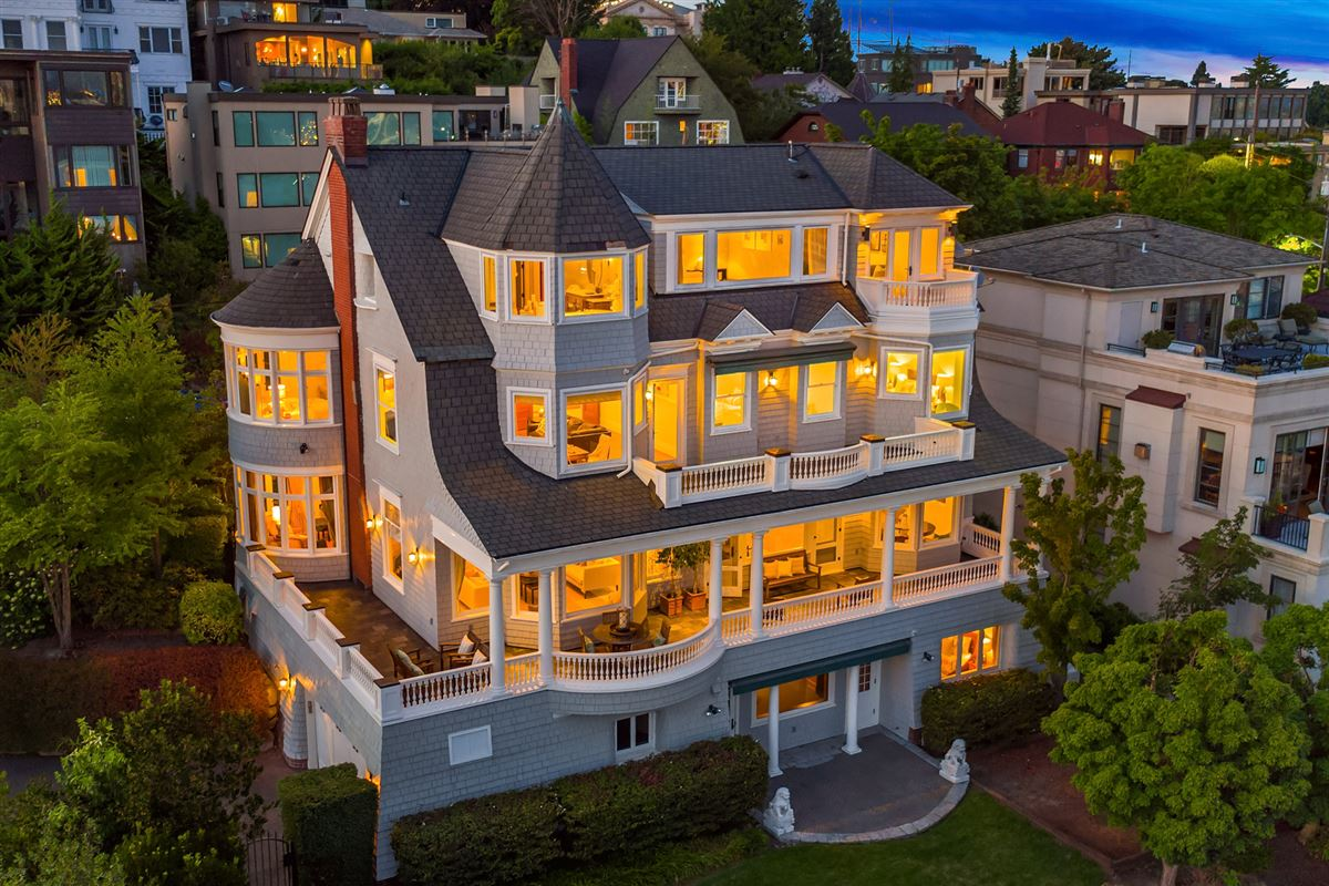 Luxury homes coveted seattle address