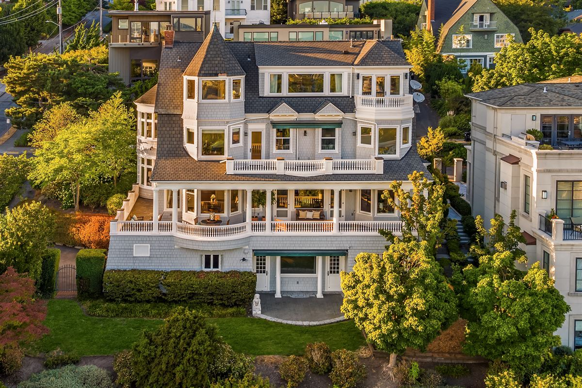 Luxury real estate coveted seattle address