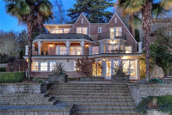 Stately 1930 Tudor Home On The Water Washington Luxury